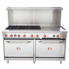 Cooking Performance Group 60-CPGV-6B-24G-S26 6 Burner 60
