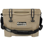 Tan 16 Qt. Extreme Outdoor Grizzly Merchandiser / Cooler