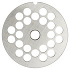 Hobart 22PLT-1/4C #22 1/4 inch Carbon Steel Grinder Plate for 4822 Meat Choppers and Chopping Ends
