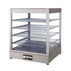 Doyon DRP4S 22 3/8 inch Countertop Hot Food Merchandiser / Warmer with 4 Shelves - 120V