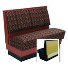 American Tables & Seating AS42-66U-Wall Alex Style Wall Bench - Upholstered - 42 inch High