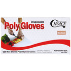 Disposable Poly Gloves