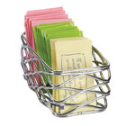American Metalcraft BNSC3 Chrome Birdnest Sugar Packet Basket - 5