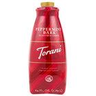 Torani 64 oz. Peppermint Bark Flavoring Sauce