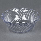 Carlisle 453307 Clear 13 oz. Tulip Berry Dish - 24/Case