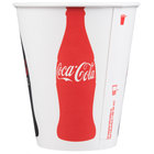 Dart Solo RP2SCB-44044 Coke® 12 oz. Poly Paper Cold Cup   - 2000/Case