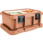 Cambro UPC160157 Coffee Beige Camcarrier Ultra Pan Carrier - Top Load for 12 inch x 20 inch Food Pan