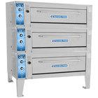 Bakers Pride ER-3-12-3836 55 inch Triple Deck Electric Roast / Bake Oven - 208V, 3 Phase