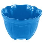 Tablecraft CW1454SBL 1.3 Qt. Sky Blue Cast Aluminum Round Condiment Bowl