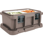 Cambro UPC160194 Granite Sand Camcarrier Ultra Pan Carrier - Top Load for 12 inch x 20 inch Food Pan