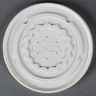 Dinex DX9300B7000 Translucent Disposable High-Temp Lid for Dinex DX9300B Tropez 9 oz. Bowl - 1000 / Case