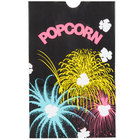 Bagcraft Papercon 300449 5 1/2 inch x 3 1/4 inch x 8 5/8 inch 85 oz. Funburst Design Popcorn Bag - 500/Case