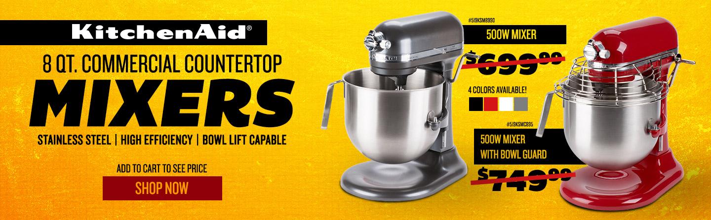 KitchenAid Countertop Mixers