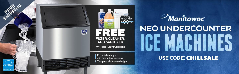 Manitowoc Neo Undercounter Ice Machines