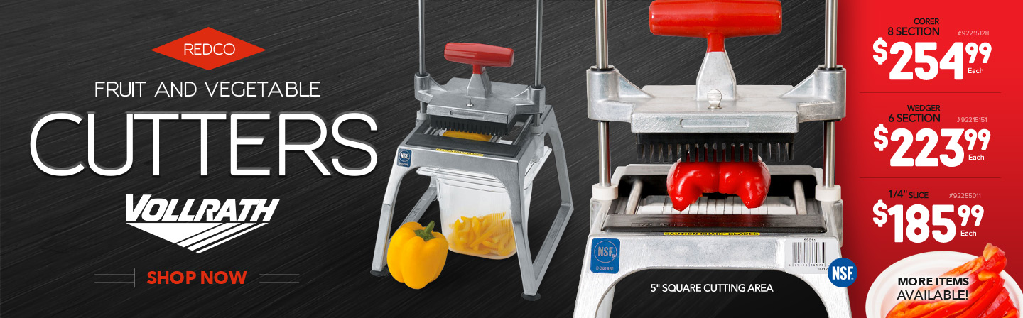 Redco Fruit and Vegetable Cutters
