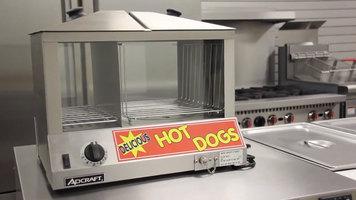 Admiral Craft Hot Dog Steamer