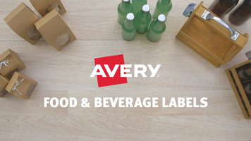 Avery Food and Beverage Labels