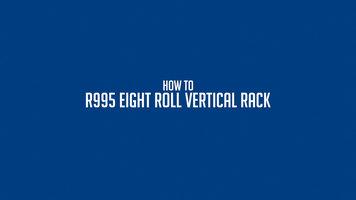 Bulman R995 Vertical Paper Rack