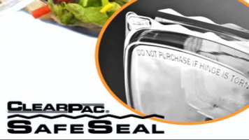 Dart ClearPac Safe Seal