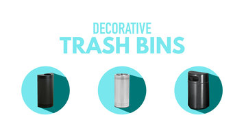 Decorative Trash Cans