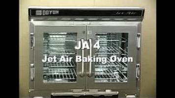 Doyon JA4 Jet Air Single Deck Convection Oven