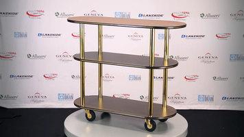 Geneva Laminate Serving Carts