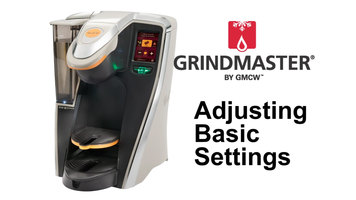 Grindmaster RealCup RC400 Coffee Brewer: Basic Settings