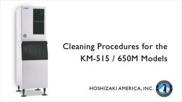 hoshizaki machine cleaning
