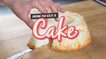 How To Cut A Cake