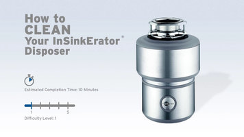 InSinkErator Garbage Disposals: How to Clean
