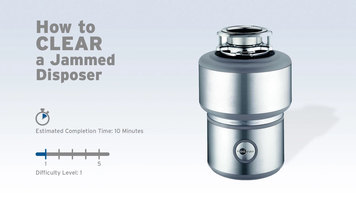 InSinkErator Garbage Disposals: How to Clear a Jam