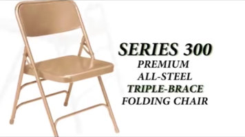 National Public Seating 300 Series Folding Chairs