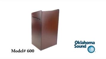 Oklahoma Sound 600 Aristocrat Lectern