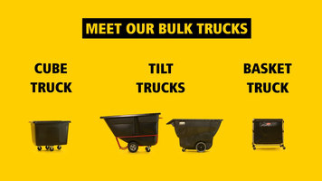 Rubbermaid Bulk Trucks