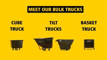 Rubbermaid Bulk Trucks