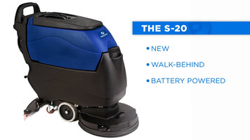 Pacific S-20 Auto Scrubber Overview