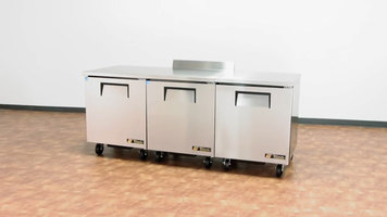 True Undercounter and Worktop Refrigerator