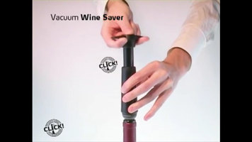 Vacu Vin Wine Saver Vacuum Pump Demonstration