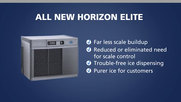 Follett All New Horizon Elite Chewblet Ice Machine