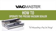 VacMaster Pro 380 External Vacuum Packaging Machine
