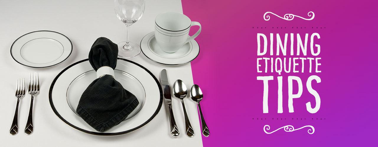Dining Etiquette Tips For Everyday Use Webstaurantstore Blog