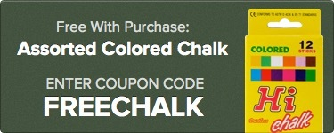 Free Chalk with Purchase!