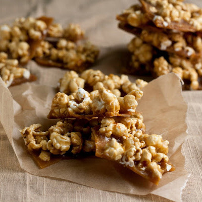Caramel Corn Brittle