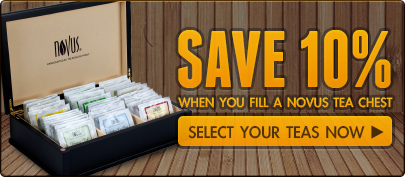 Save 10% When You Fill a Novus Tea Chest!