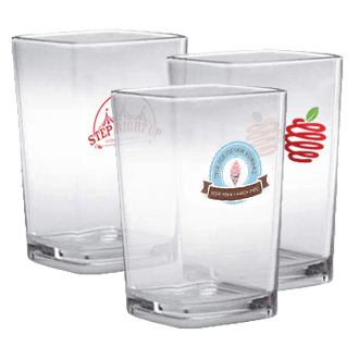 Polycarbonate Mini Dessert Glasses
